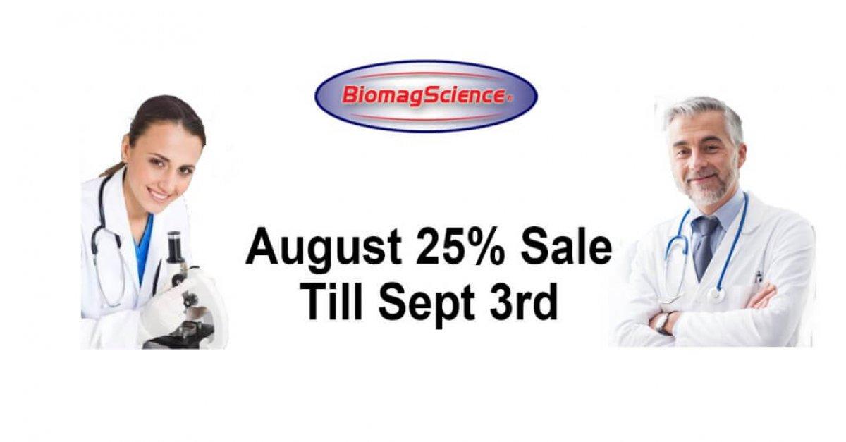 FB August 25% Sale