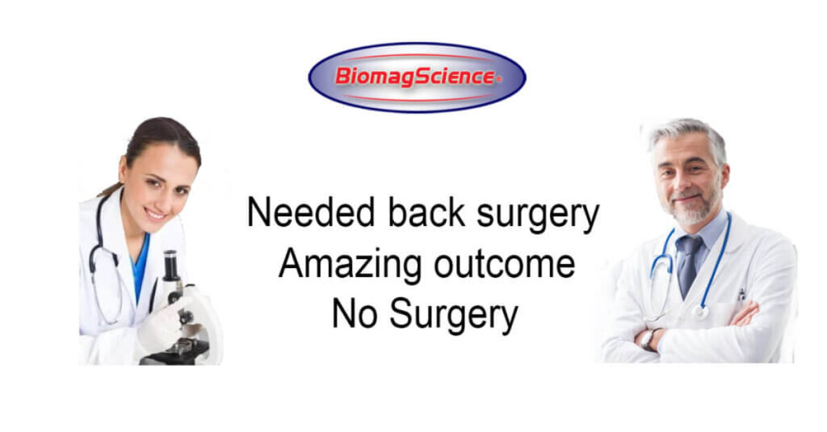 Needed back surgery Amazing outcome - 20191003