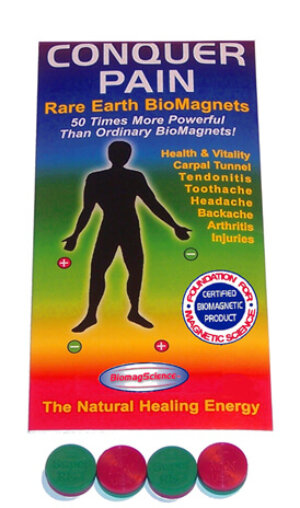 BiomagScience Pain Relief and Vitality Biomagnetic Therapy Kit