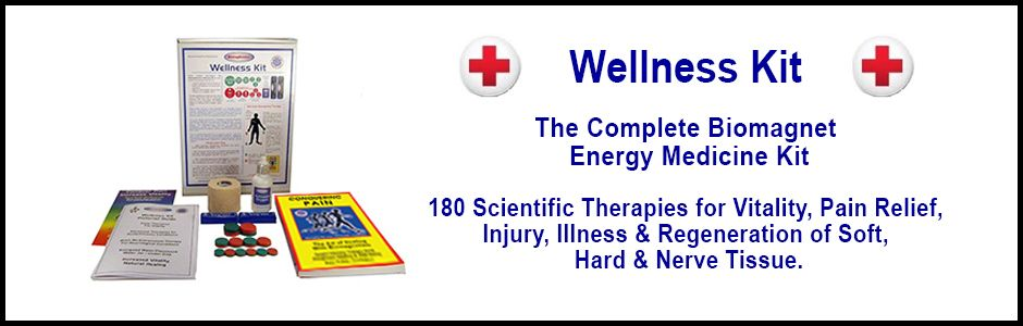Wellness Kit - the complete biomagnet energy medicine kit